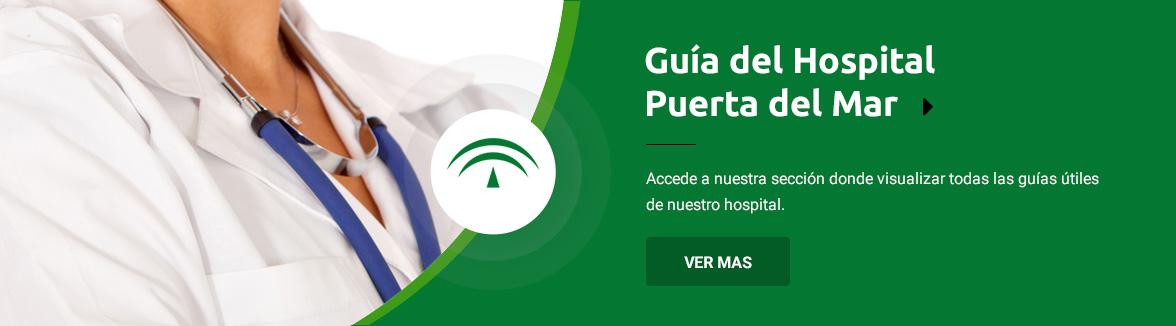 Accede a nuestras guías del Hospital Puerta del Mar